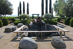 The Ponte Winery Fountain View Garden