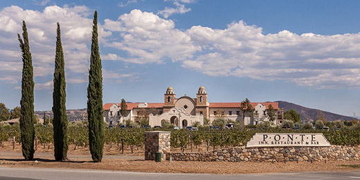 The Ponte Winery Vineyard Inn