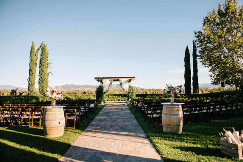 The Ponte Winery Vineyard Garden